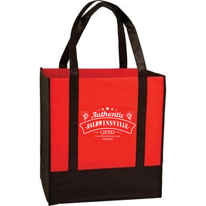 """Authentic Baldwinsville Gear"" Reusable Grocery Tote"
