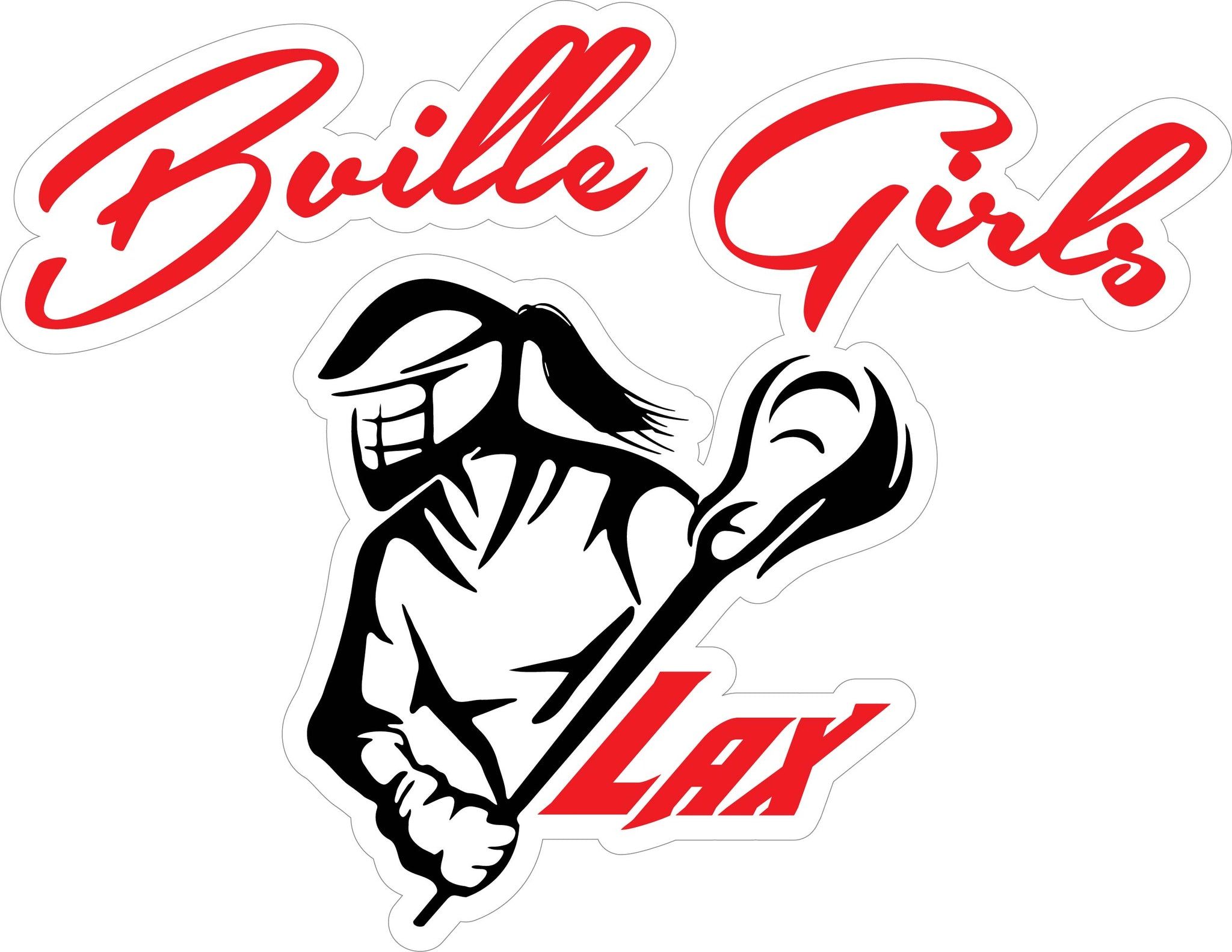 """Bville Girls LAX"" Decal"