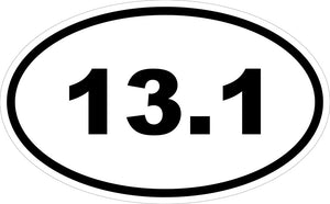"""13.1"" Decal"