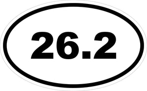 """26.2"" Decal"