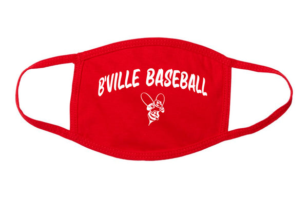 Red B'Ville Face Masks