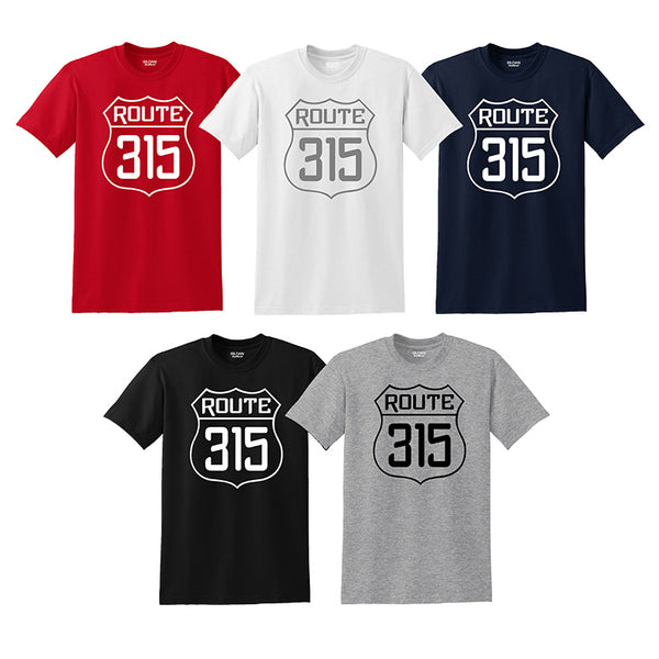 """Route 315"" T-shirts"