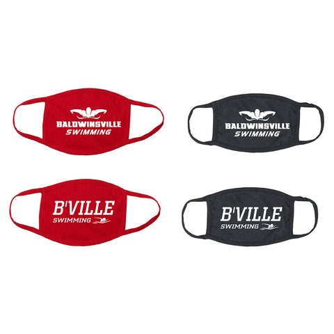 B'Ville Swimming-Themed Face Masks