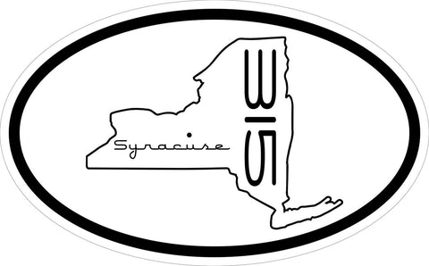 """Syracuse 315"" v.2 Decal"