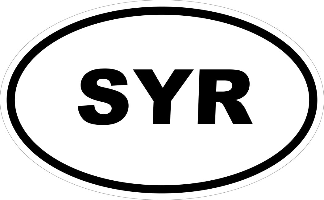 """SYR"" Decal"