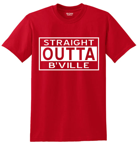 """Straight Outta B'VILLE"" T-Shirts"