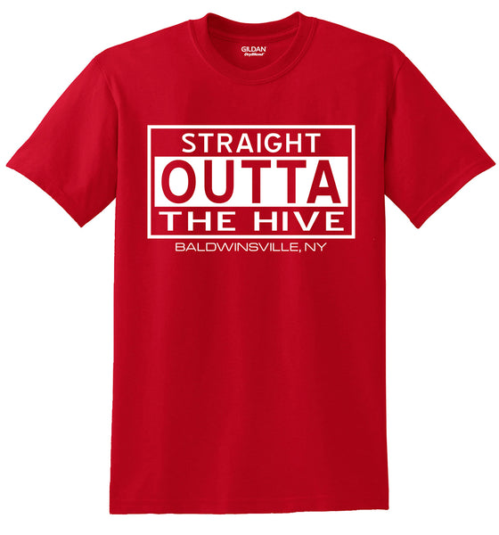 """Straight Outta The Hive"" T-shirts"
