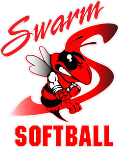 """Swarm Softball"" Decal"