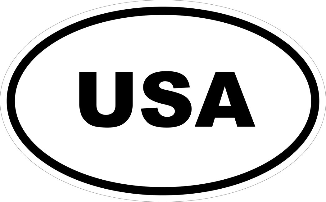 """USA"" Decal"