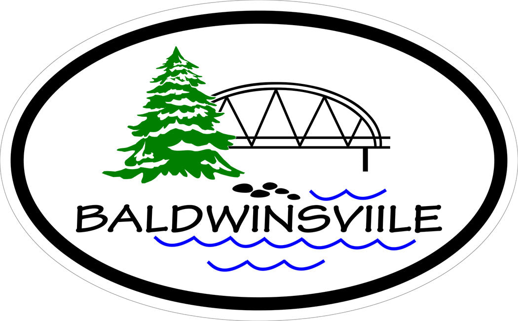 Village of Baldwinsville Decal