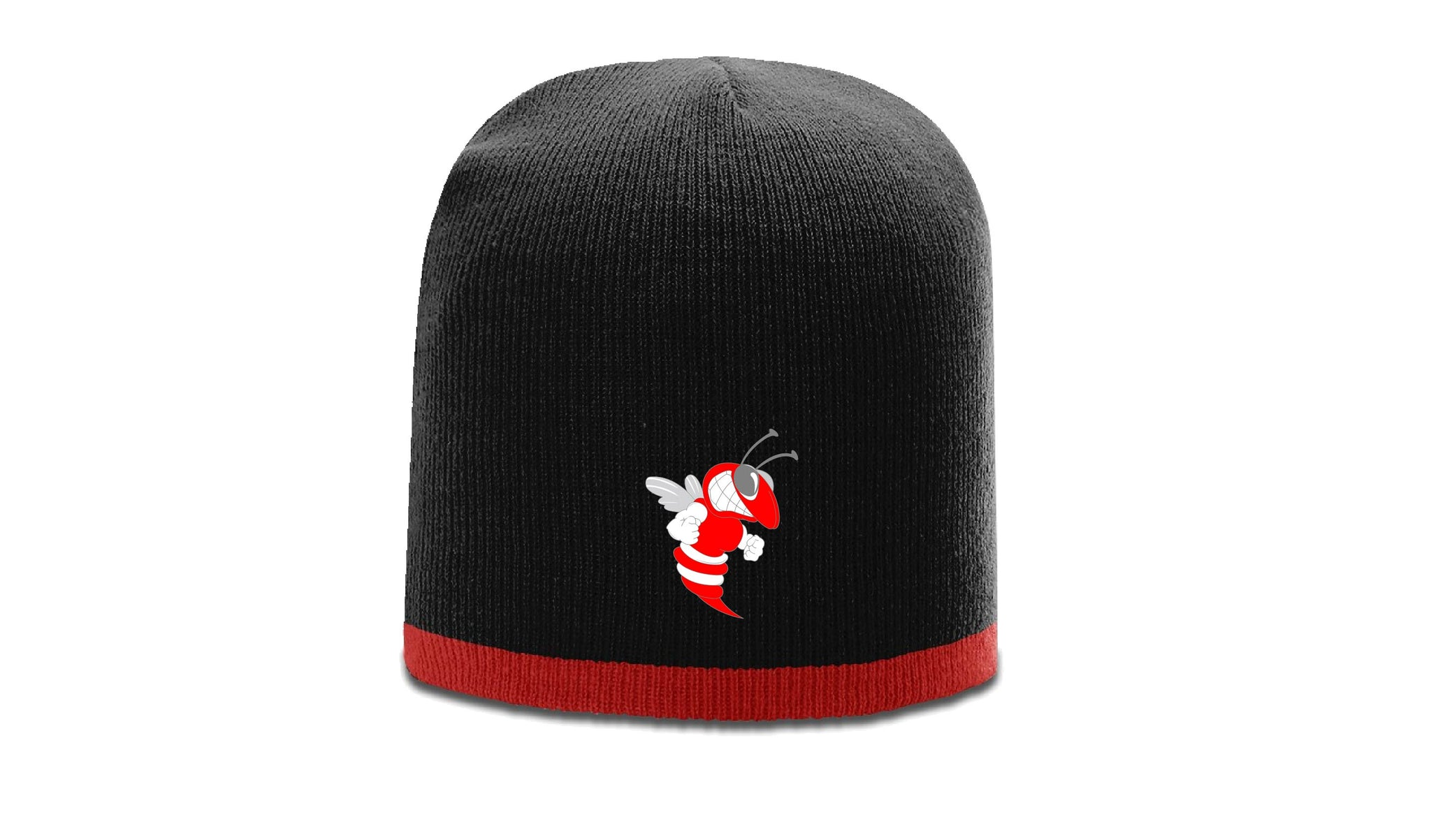 2-Tone Embroidered B'ville Bee Winter Beanie Hat