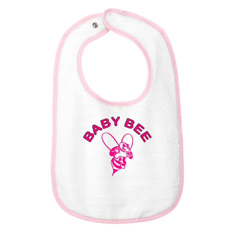 """Baby Bee"" Embroidered Bib"