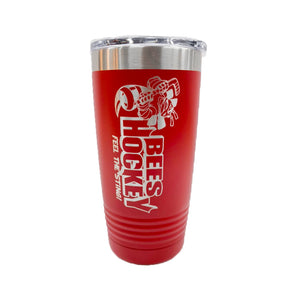 """Bees Hockey"" 20oz. Insulated Tumbler"