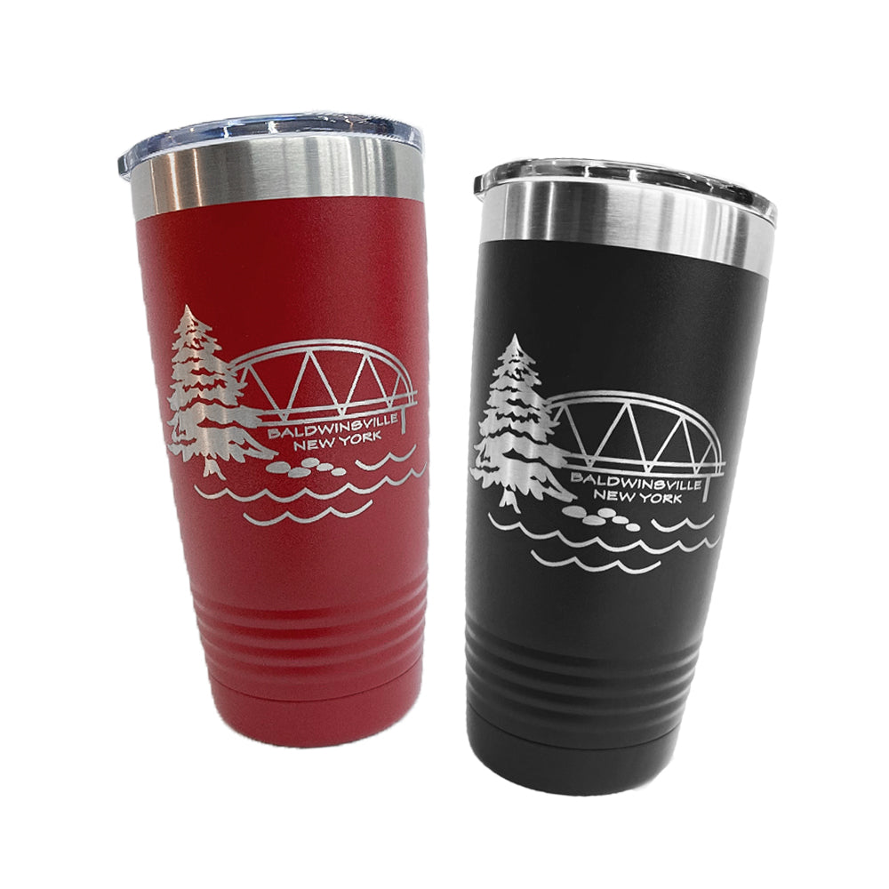 Baldwinsville Bridge 20oz. Insulated Tumblers