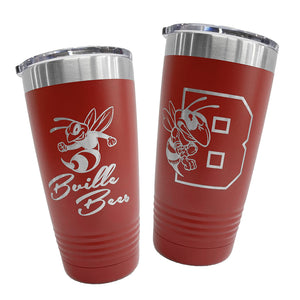 B'Ville-Themed 20oz. Insulated Tumblers