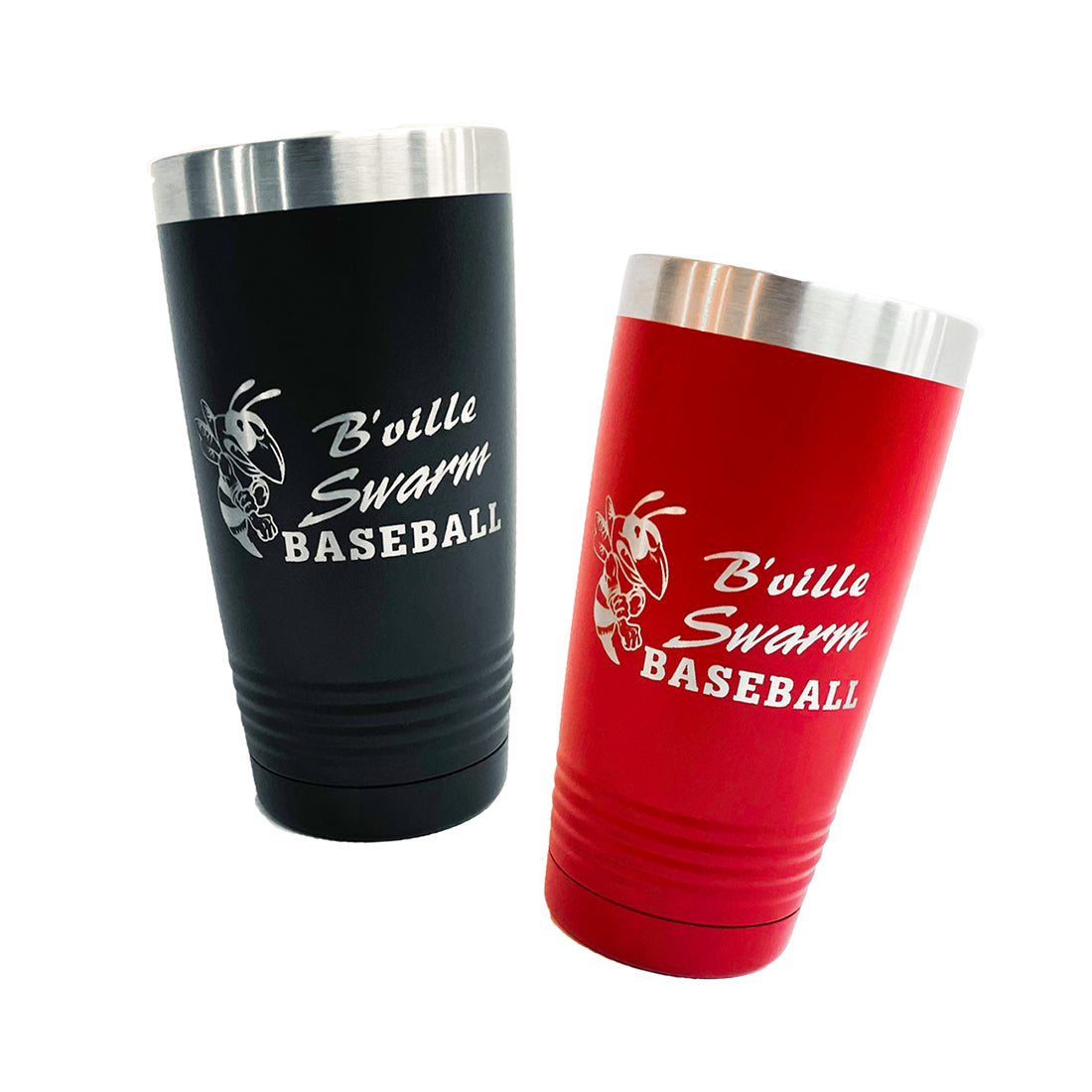 """B'ville Swarm Baseball"" 20oz. Insulated Tumblers"