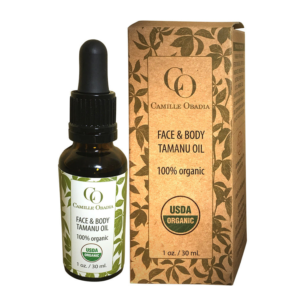 100% Organic Face and Body Tamanu Oil