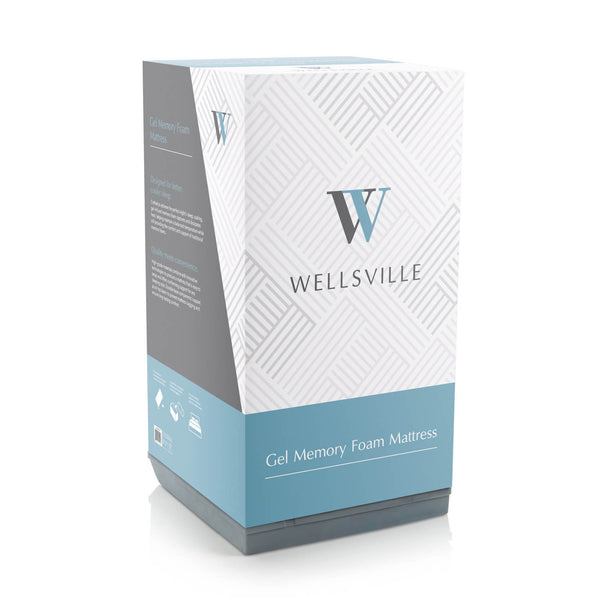 Wellsville 8 inch Gel Infused Air Memory Foam  Mattress