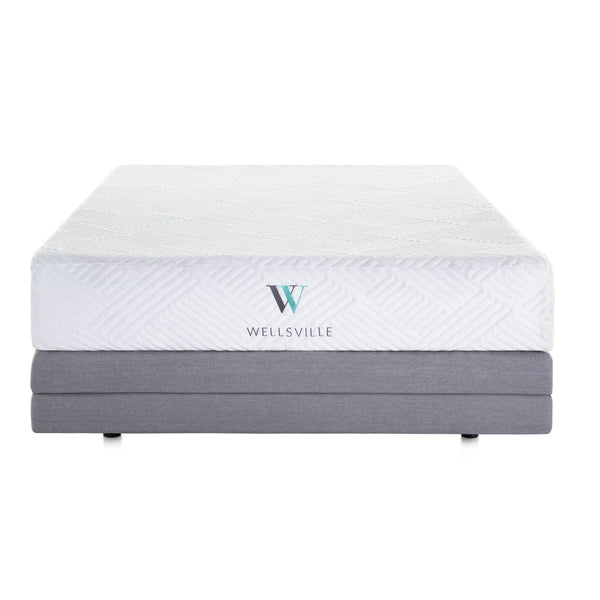 Wellsville 11 inch Gel Infused Air Memory Foam  Mattress