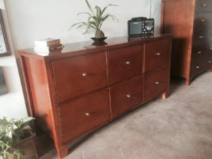 Eco Retro Deep-Drawer Dresser
