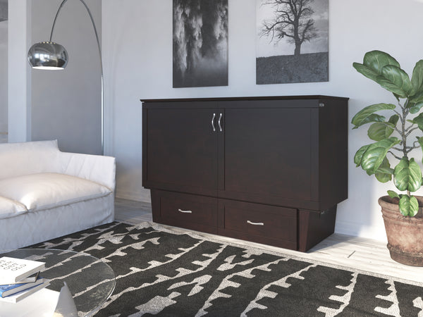 Monroe Queen Murphy Bed Chest With Charging Station