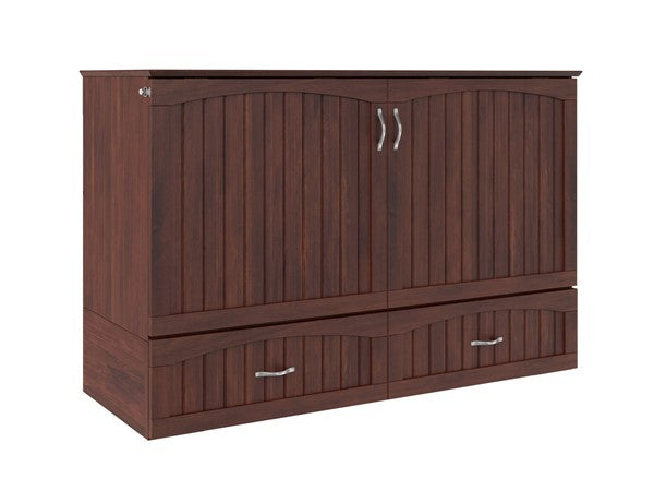 Southampton Queen Murphy Bed Chest With Charging Station