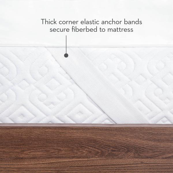 "Isolus - 3"" Down Alternative Mattress Topper"