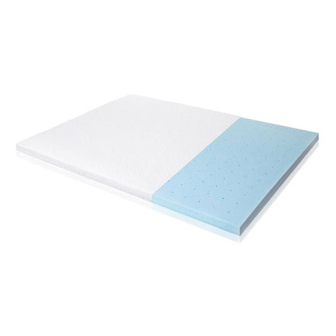"Isolus - 2.5"" Gel Memory Foam Mattress Topper"