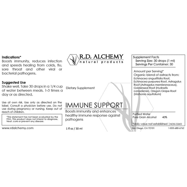 Immune Support Extract - Dietary Supplement