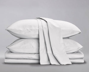 Sateen Organic Sheet Set