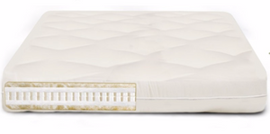 Comfort Rest Latex Wool & Cotton Futon Mattress
