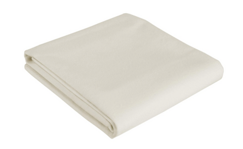 "Organic Cotton Zipper Barrier Cover for Mattresses and Futons (6-9"")"