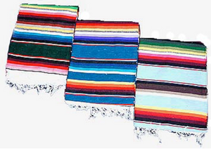 100% Cotton Mexican Blanket