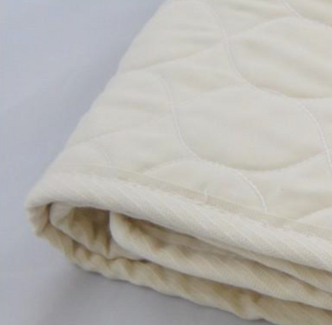Organic Cotton Quilted Mattress Pad