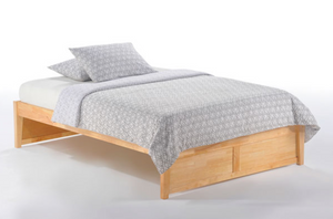 K Series Sustainable Hardwood Platform Bed Frame