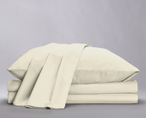 Crisp Percale Organic Sheet Set
