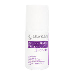 24 Hour Roll On Deodorant - Lavender