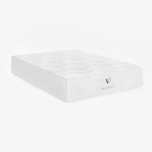 Wellsville 14 inch Gel Infused Air Memory Foam  Mattress