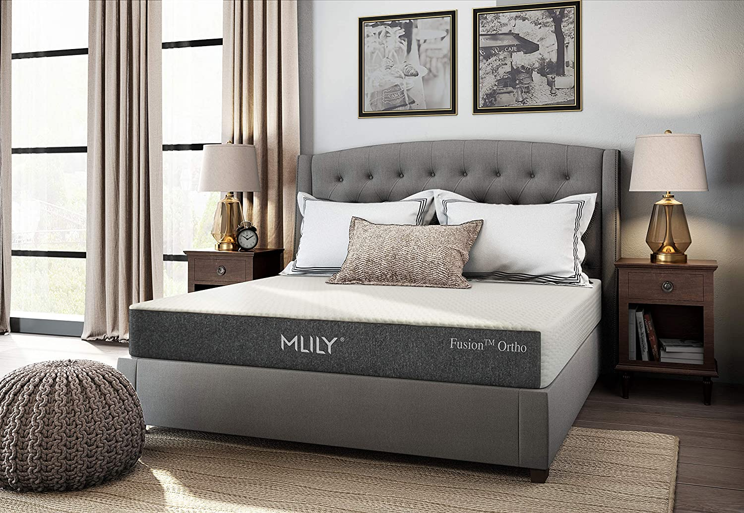 Fusion Ortho | 10.5″ Eco Foam Hybrid Mattress