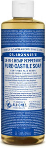 Dr. Bronner's Organic Pure-Castile Soap, 18-in-1 Peppermint