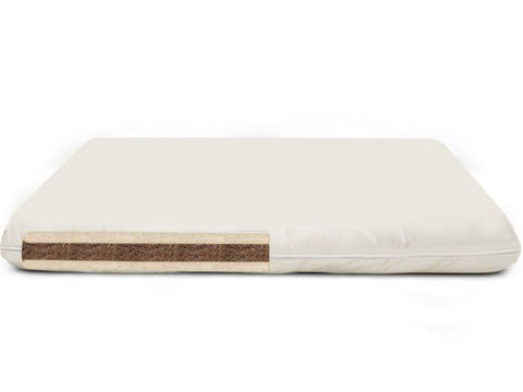 Snuggles Coconut and Wool Crib Mattress