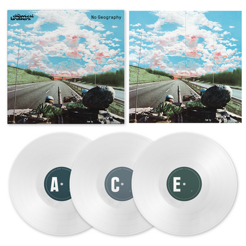 No Geography 3LP Exclusive Box Set