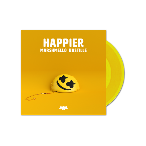 "Limited Edition Happier 7"" Vinyl + Digital Single"