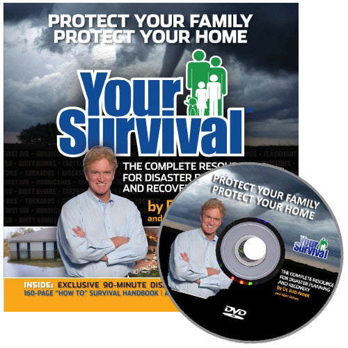Your Survival: 160-page Handbook & 90-minute DVD