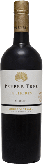 Pepper Tree 14 Shores Merlot 2012