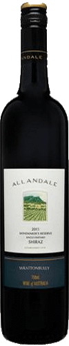 "Allandale Winemaker's Reserve Shiraz 2015 ""Wrattonbully"""
