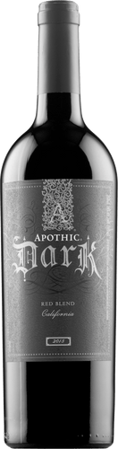 Apothic Dark Red Blend 2015 - Bacchus Box