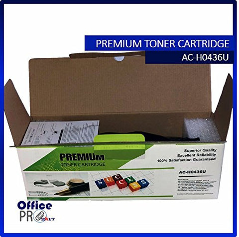 2 Packs Compatible Ink & Toner HP CB435A / CB436A / CE285A ALSO COMPATIBLE WITH CANON CTG 125