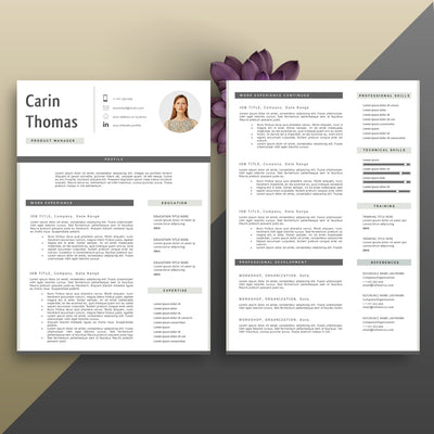 professional cv template cover letter template references template
