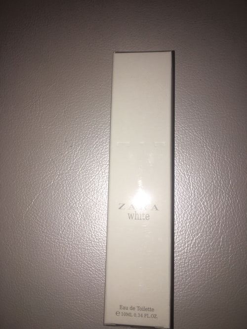 ZARA WOMAN - WHITE - Eau de Toilette Original Fragrance New Sealed Roll On 10ml